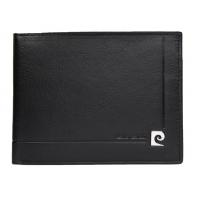 Męski poziomy portfel Pierre Cardin, exclusive collection, czarny