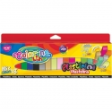 plastelina kwadratowa Colorino mix 18 kolorów