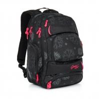 Trzykomorowy plecak młodzieżowy Topgal HIT 863