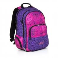 Dwukomorowy plecak młodzieżowy Topgal HIT 861