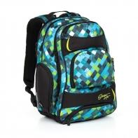 Trzykomorowy plecak młodzieżowy Topgal HIT 869