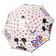 Dziecięca głęboka parasolka z motywem Myszki Mickey, niebieska