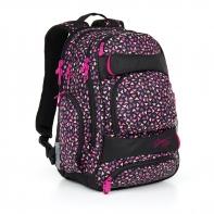 Trzykomorowy plecak młodzieżowy Topgal HIT 862
