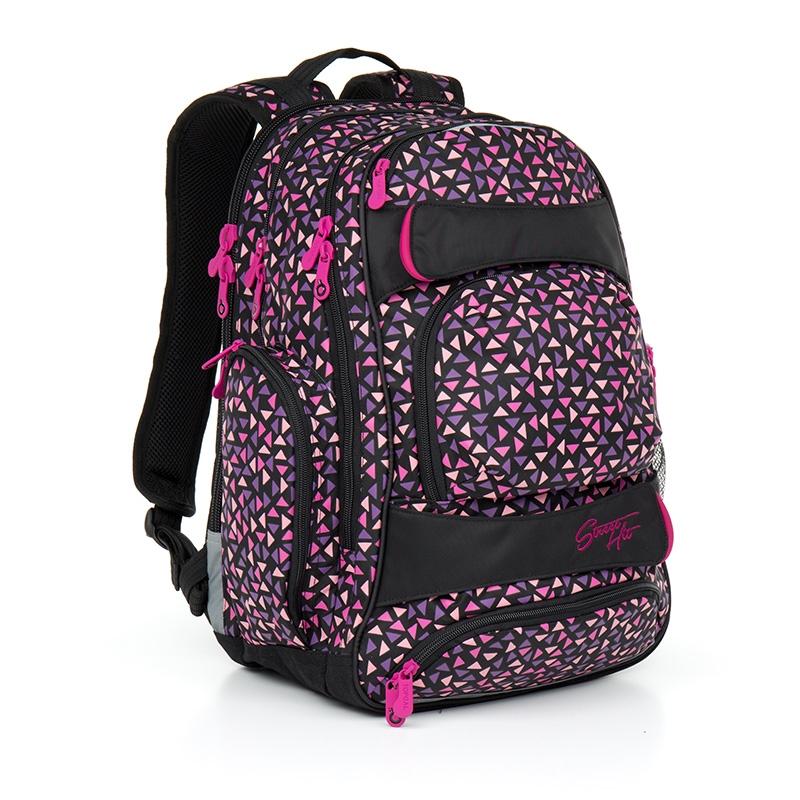 2777d7e57437b Trzykomorowy plecak młodzieżowy Topgal HIT 862