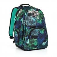 Dwukomorowy plecak młodzieżowy Topgal HIT 860