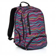 Dwukomorowy plecak młodzieżowy Topgal HIT 858