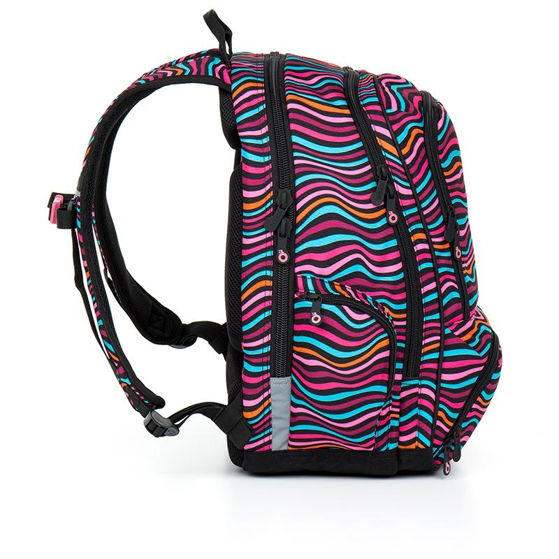 927ea426d3dd6 Dwukomorowy plecak młodzieżowy Topgal HIT 858