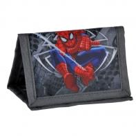 Portfelik dziecięcy Paso Spiderman szary