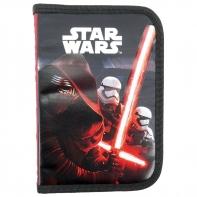 Piórnik jednokomorowy bez wyposażenia Star Wars Epizod VII, czerwony