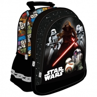 Plecak szkolny dla chłopca Star Wars Epizod VII, czerwony