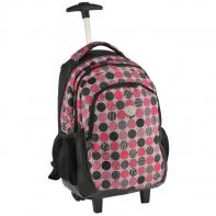 Plecak szkolny na kółkach Paso kółeczka