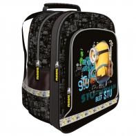 Plecak szkolny Minionki czarny
