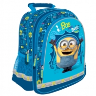 Plecak szkolny Minionki niebieski