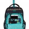 Plecak szkolny na kółkach CoolPack Swift Misty Orange 955