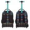 Plecak szkolny na kółkach CoolPack Swift Emerald Ethnic 929
