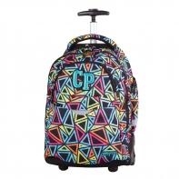 Plecak szkolny na kółkach CoolPack Rapid Color Triangels 652