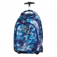 Plecak szkolny na kółkach CoolPack Target Frozen Blue 638