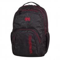Młodzieżowy plecak szkolny CoolPack Smash 26L, Topography Red 976