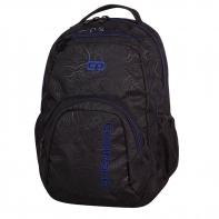 Młodzieżowy plecak szkolny CoolPack Smash 26L, Topography Blue 984