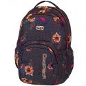 Młodzieżowy plecak szkolny CoolPack Smash 26L, Grey Danim Flowers 1066