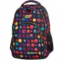 Młodzieżowy plecak szkolny CoolPack Basic 27L, Topography Blue 985