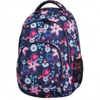 Młodzieżowy plecak szkolny CoolPack Basic 27L, Bluish Meadow 918