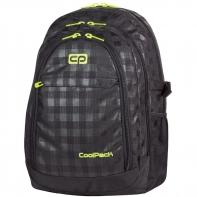 Bardzo duży plecak szkolny CoolPack Grand 38 L 415, Black&Yellow