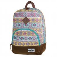 Bardzo lekki plecak szkolno - miejski CoolPack Classic 17 L, Aztec 1011