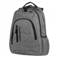 Młodzieżowy plecak szkolny CoolPack Mercator 31 l, Snow Grey 594