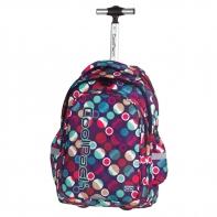 Plecak szkolny na kółkach CoolPack Junior 34 L MOSAIC DOTS 721