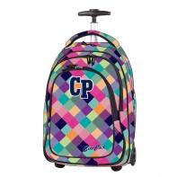 Plecak szkolny na kółkach CoolPack Target Patchwork 1042