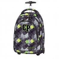 Plecak szkolny na kółkach CoolPack Target Grunge Grey 1043