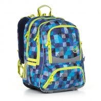 Plecak szkolny dwukomorowy dla chłopca Topgal CHI 870