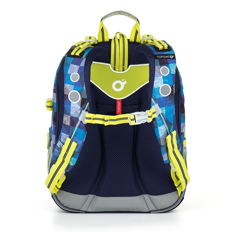 5f2447897bf01 Plecak szkolny dwukomorowy dla chłopca Topgal CHI 870