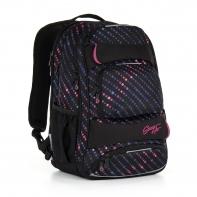 Trzykomorowy plecak młodzieżowy Topgal HIT 884