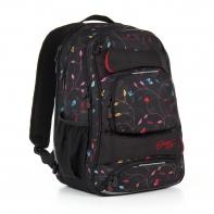 Trzykomorowy plecak młodzieżowy Topgal HIT 885