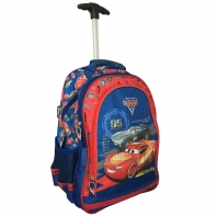 Plecak na kółkach dla chłopca Cars - auta