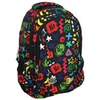 Dwukomorowy plecak szkolny St.Right 19 L, Yes or No