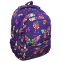 Dwukomorowy plecak szkolny St.Reet 24 L, Butterfly