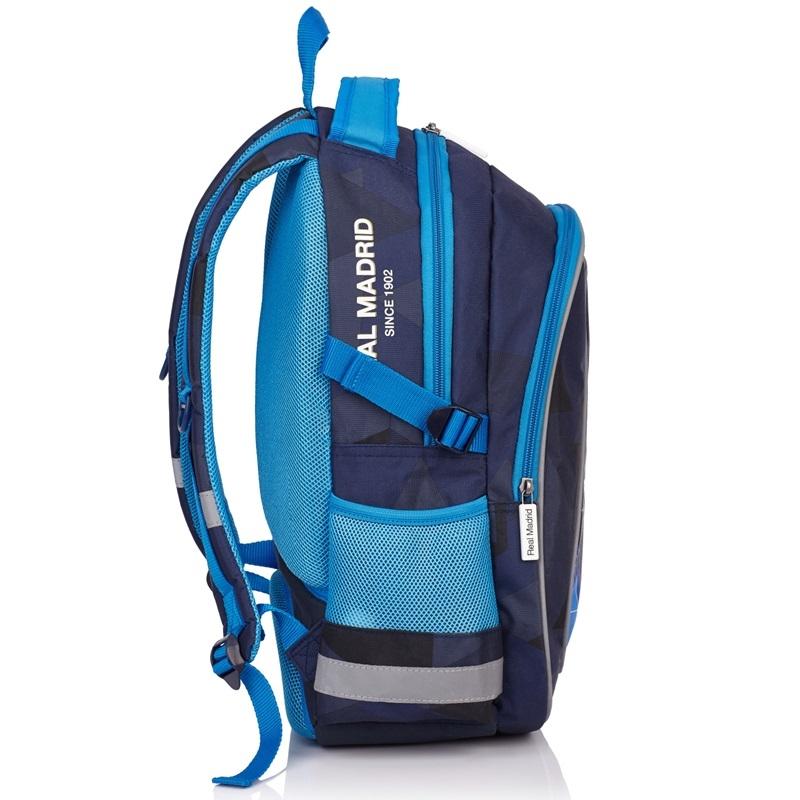 8b94bf81a6221 Dwukomorowy plecak szkolny Real Madrid Astra RM-72