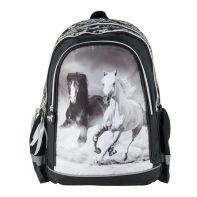 Plecak szkolny dla dziewczynki Paso konie