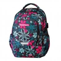 Młodzieżowy plecak szkolny CoolPack Factor 29L Flowers 439