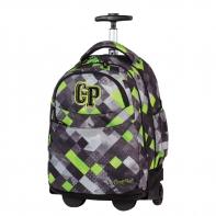 Plecak szkolny na kółkach CoolPack Rapid Grunge Grey 457