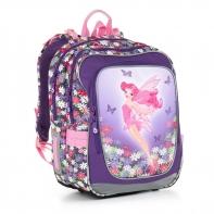 Plecak szkolny dwukomorowy dla dziewczynki Topgal CHI 879