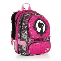 Plecak szkolny dwukomorowy dla dziewczynki Topgal CHI 875