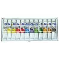 12 farb akrylowych w tubach Titanum/Firster 12 x 12ml