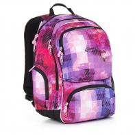 Dwukomorowy plecak młodzieżowy Topgal HIT 891