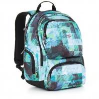 Dwukomorowy plecak młodzieżowy Topgal HIT 890