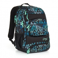Trzykomorowy plecak młodzieżowy Topgal HIT 888