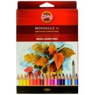 36 kredek ołówkowych akwarelowych sześciokątnych KOH-I-NOOR Mondeluz